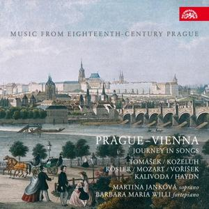 CD JANKOVA MARTINA, WILLI BARBARA MARIA PRAGUE-VIENNA. JOURNEY IN SONGS