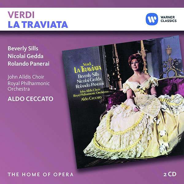 CD CECCATO/SILLS/GEDDA/PANERAI - VERDI: LA TRAVIATA