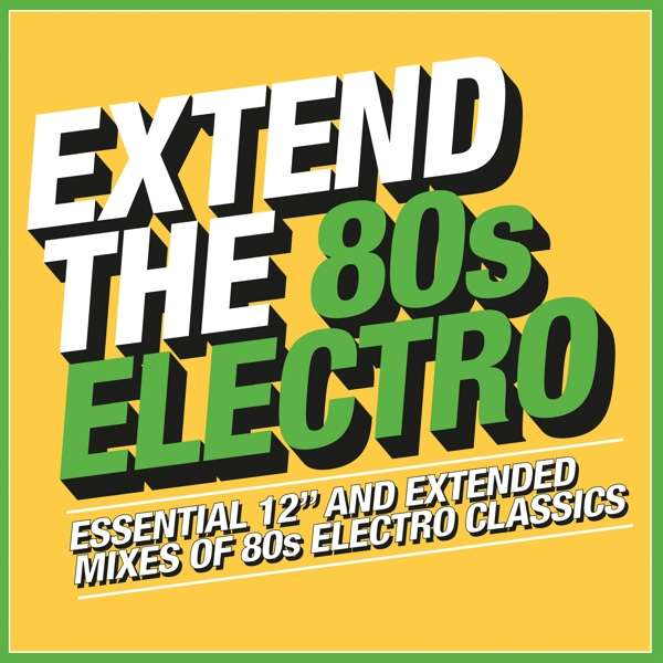 CD VARIOUS ARTISTS - EXTEND THE 80S - ELECTRO
