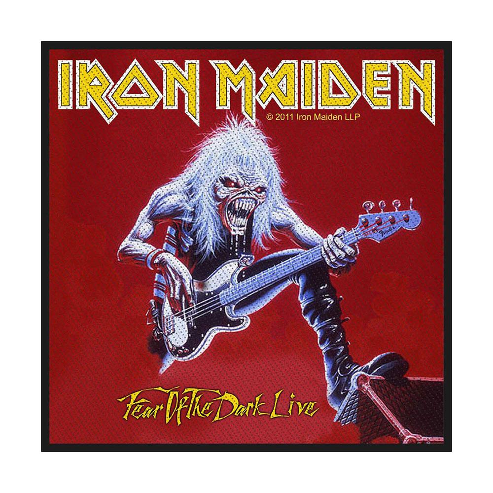 Iron Maiden - Nažehlovačka Fear of the Dark Live