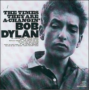 Bob Dylan - CD TIMES THEY ARE A-CHANGIN'