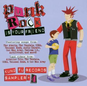 CD V/A - PUNK ROCK IS YOUR FRIEND VOL.4