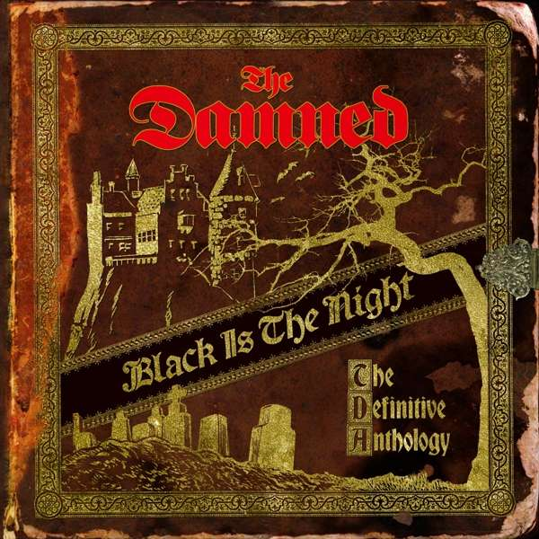 CD DAMNED, THE - BLACK IS THE NIGHT: THE DEFINITIVE ANTHOLOGY