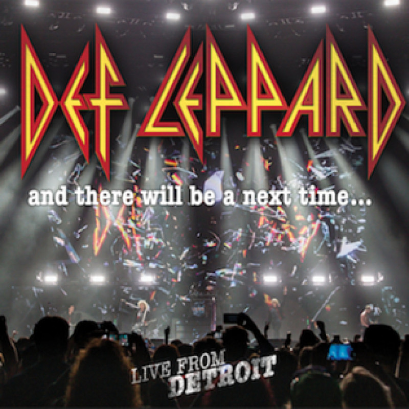 Def Leppard - DVD AND THERE WILL BE.../CD