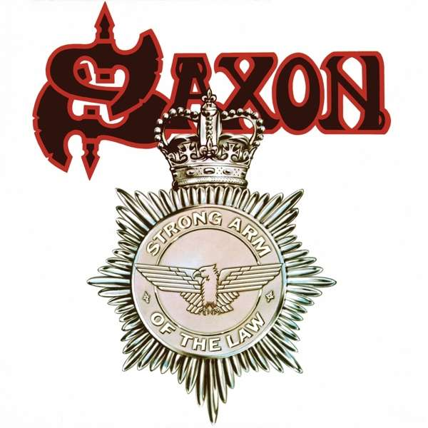 CD SAXON - STRONG ARM OF THE LAW