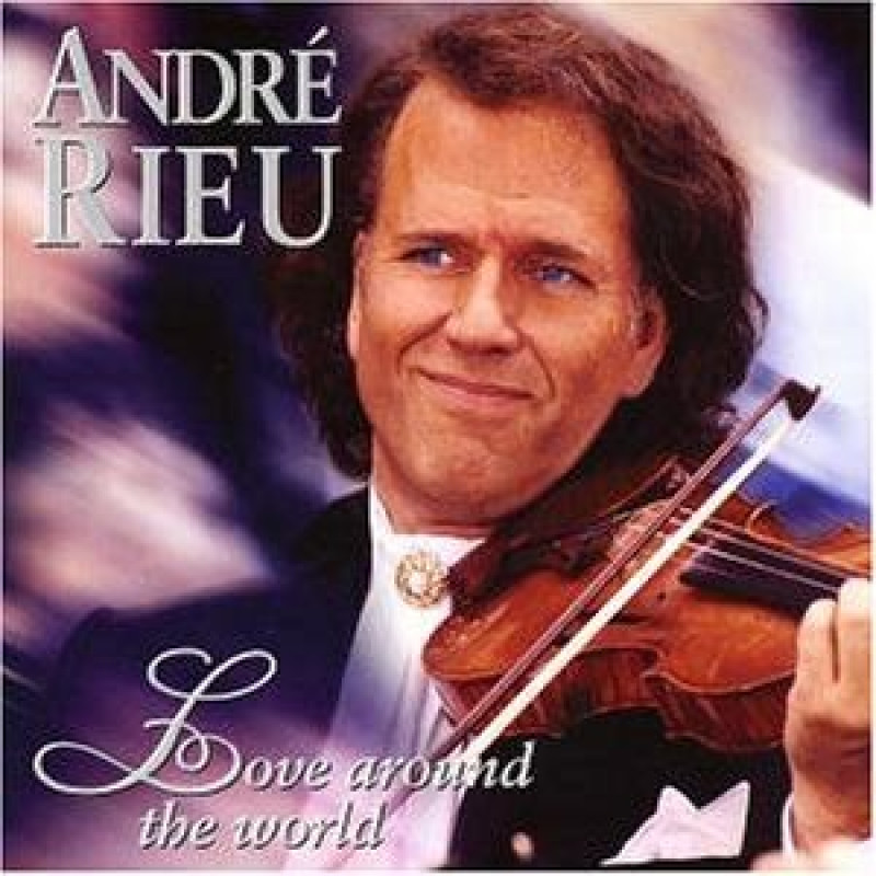 DVD RIEU ANDRE - LOVE AROUND THE WORLD