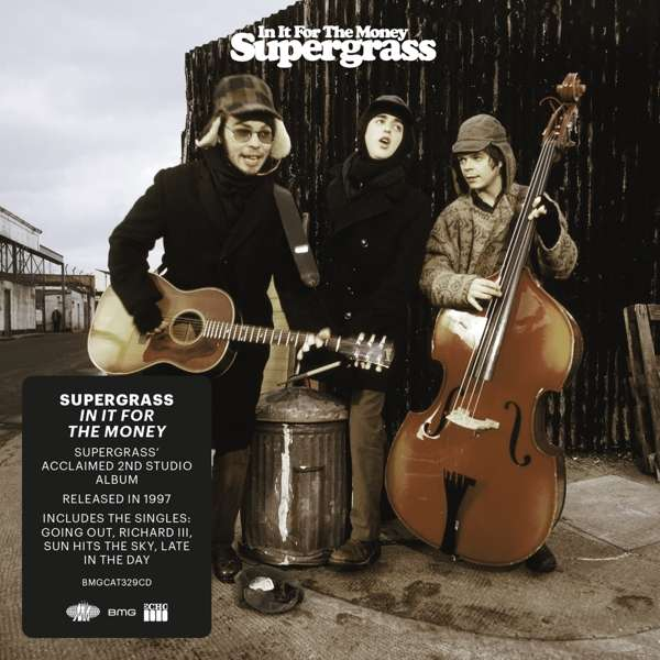 CD SUPERGRASS - IN IT FOR THE MONEY