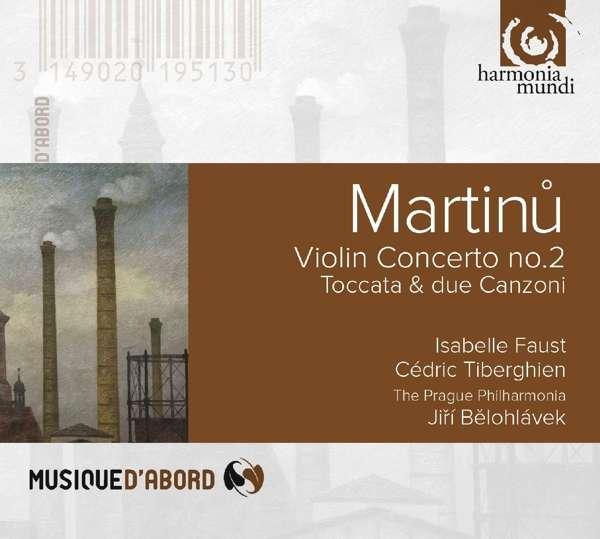 CD MARTINU, B. - VIOLIN CONCERTO NO.2