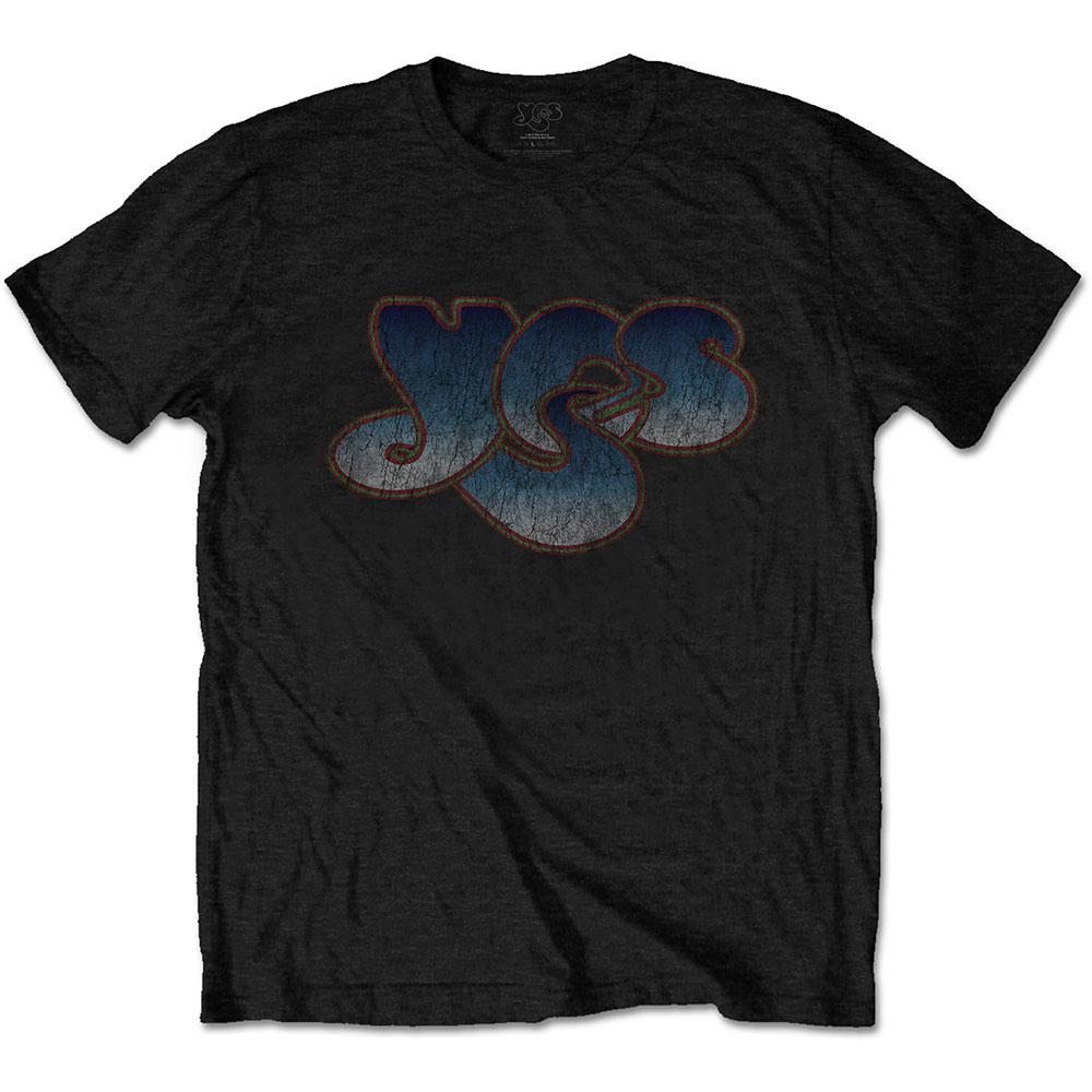 Yes - Tričko Vintage Logo - Muž, Unisex, Čierna, L