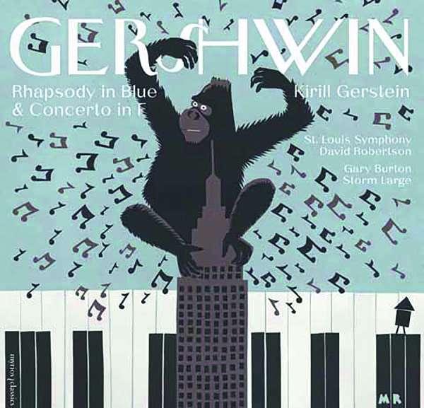 CD GERSHWIN, G. - RHAPSODY IN BLUE & CONCERTO IN F