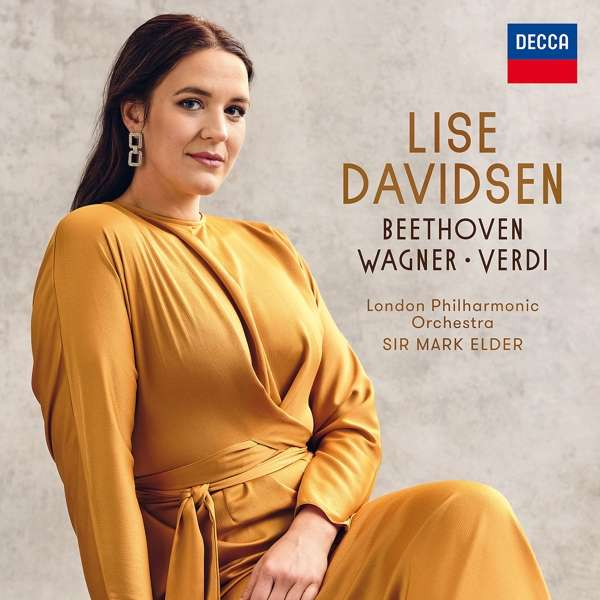 CD DAVIDSEN LISE - BEETHOVEN-WAGNER-VERDI