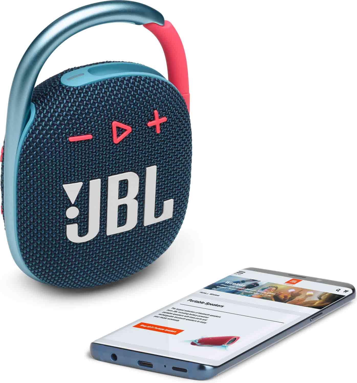 Reproduktor JBL Clip 4 Blue/Coral