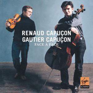 CD CAPUCON, RENAUD & GAUTIER - FACE A FACE-DUOS FOR VIOLIN&CELLO