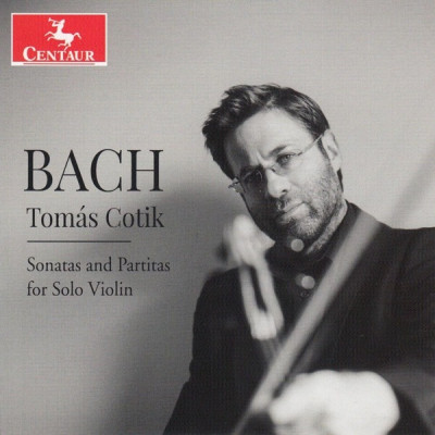 CD COTIK, TOMAS - BACH: SONATAS AND PARTITAS FOR SOLO VIOLIN