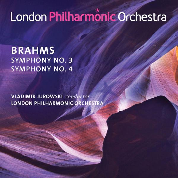 CD BRAHMS, J. - SYMPHONY NO.3 & NO.4