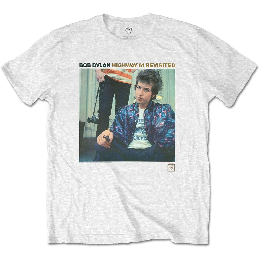 Bob Dylan - Tričko Highway 61 Revisited - Muž, Unisex, Biela, S