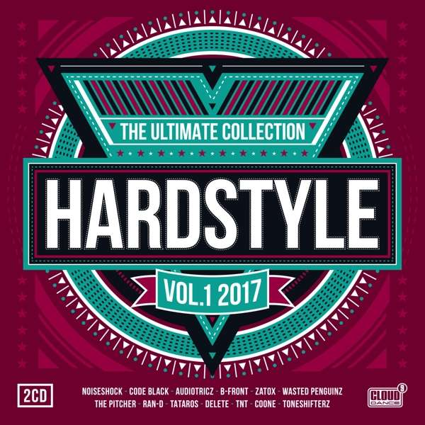 CD V/A - HARDSTYLE THE ULTIMATE COLLECTION VOL 1 -2017-