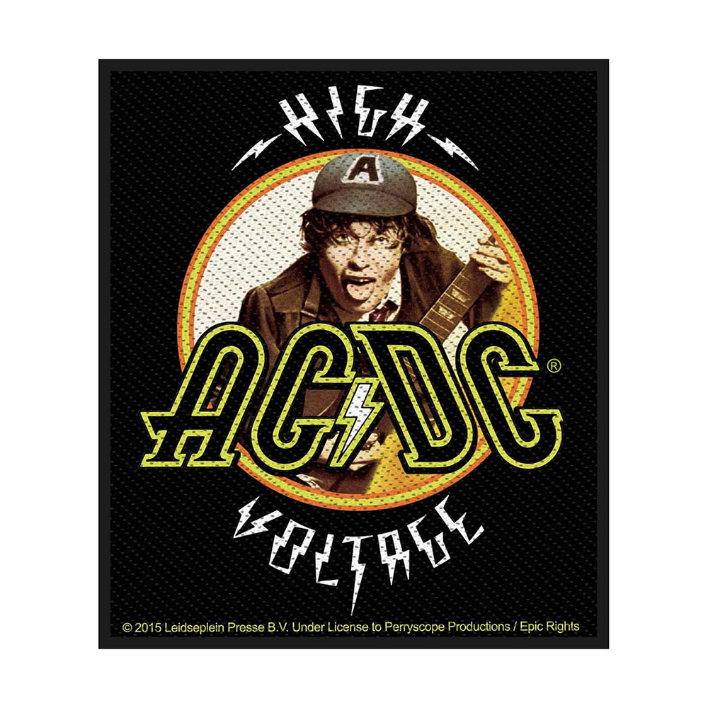AC/DC - Nažehlovačka High Voltage Angus