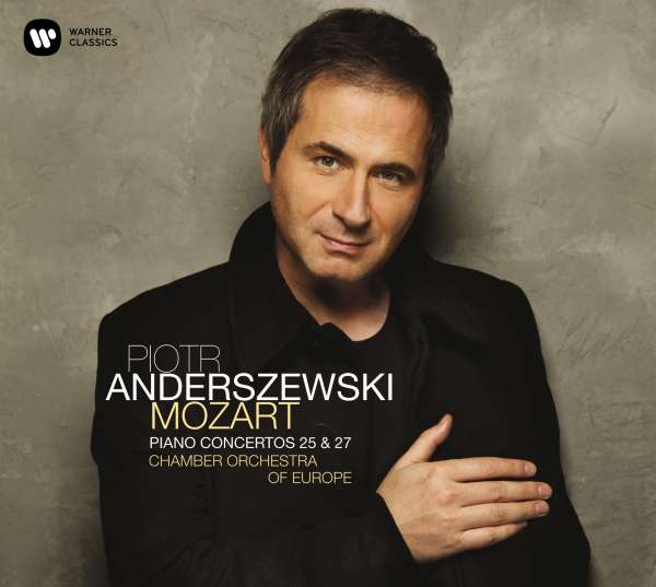 CD ANDERSZEWSKI, PIOTR - MOZART: PIANO CONCERTOS NOS. 25 & 27