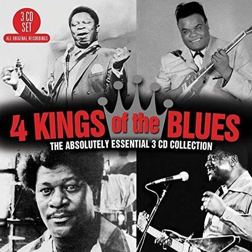 CD V/A - 4 KINGS OF THE BLUES