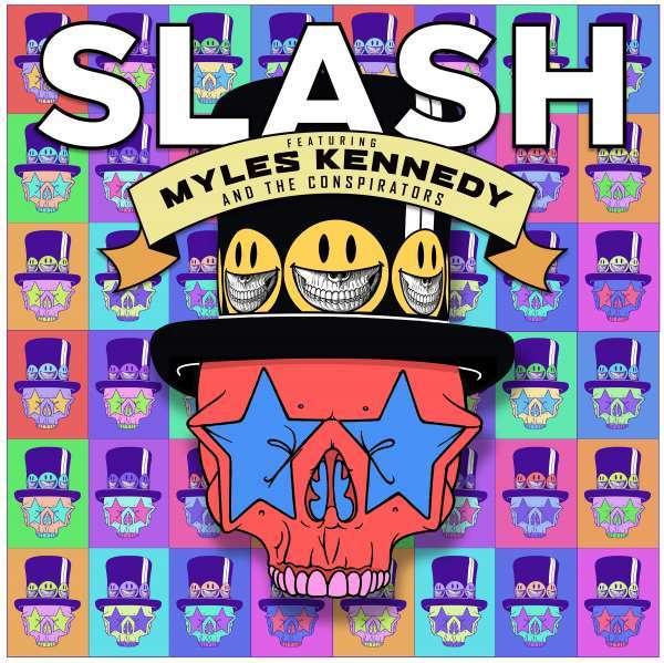 CD SLASH FEAT. KENNEDY, MYLES & THE CONSPIRATORS - LIVING THE DREAM