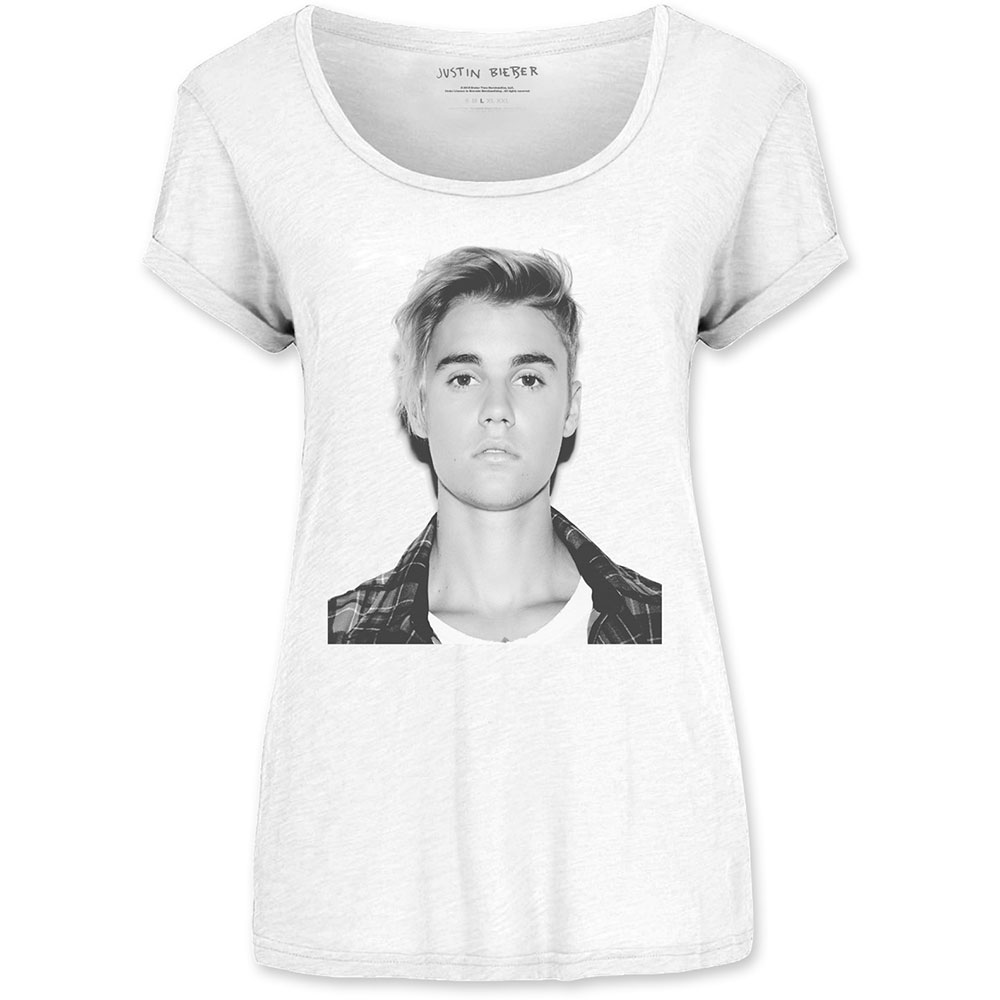 Justin Bieber - Tričko Love Yourself - Žena, Biela, XL
