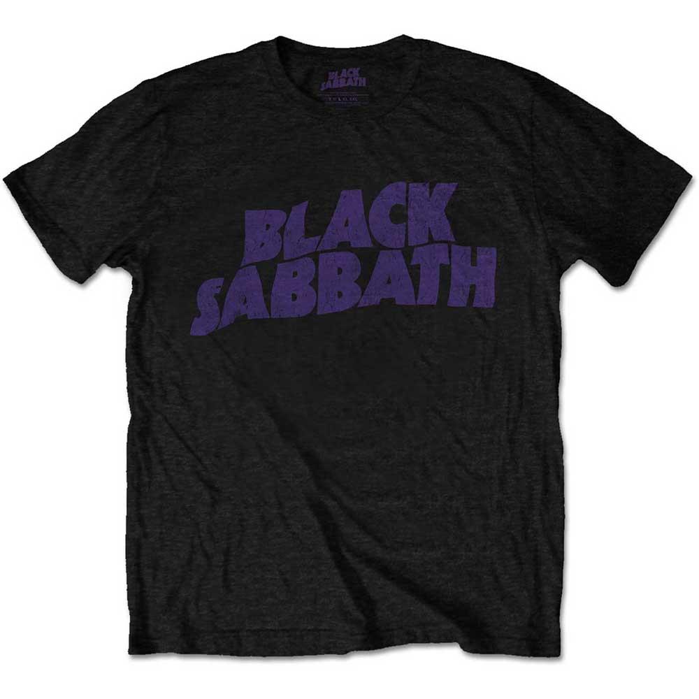 Black Sabbath - Tričko Vintage Way Logo - Muž, Unisex, Čierna, XXL