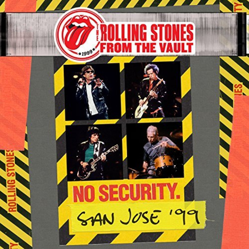 Rolling Stones - CD FROM THE VAULT: NO../2DVD