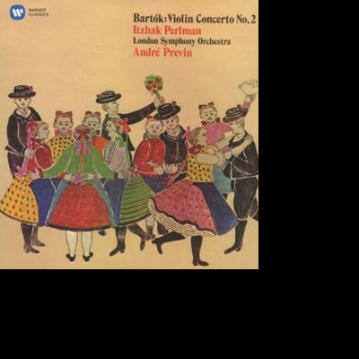 CD PERLMAN/PREVIN/LONDON SYMPHONY ORCHESTRA - BARTOK: VIOLIN CONCERTO NO. 2