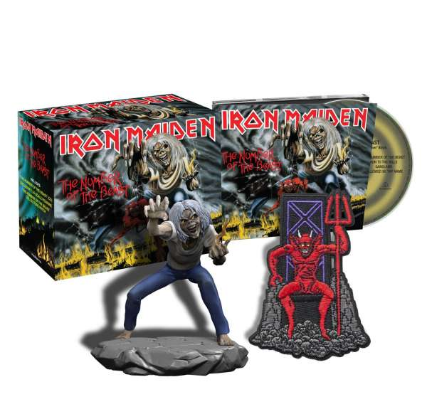 Iron Maiden - CD THE NUMBER OF THE BEAST (COLLECTORS)
