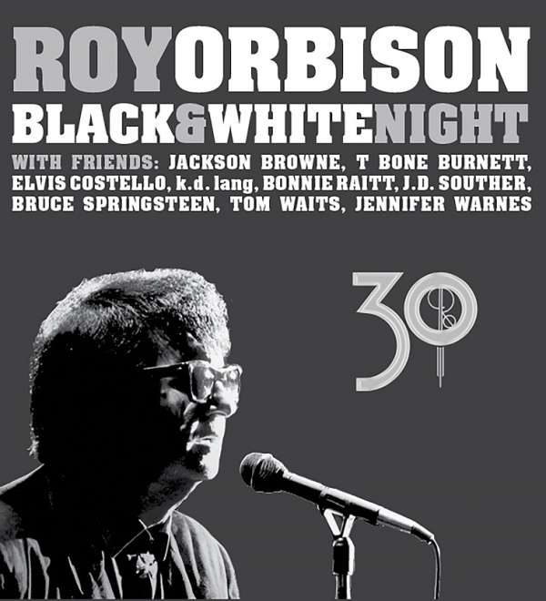Roy Orbison - CD BLACK & WHITE NIGHT 30