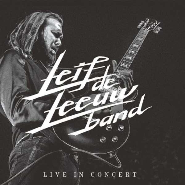 CD LEEUW, LEIF DE -BAND- - LIVE IN CONCERT