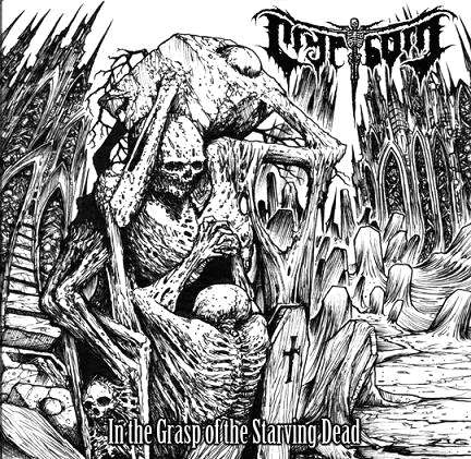 CD CRYPTBORN - IN THE GRASP OF THE STARVING DEAD