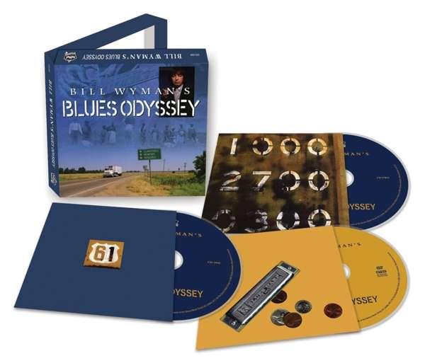 CD V/A - BILL WYMAN'S BLUES ODYSSEY