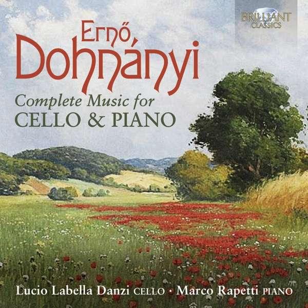 CD DANZI, LUCIO LABELLA & MA - DOHNANYI: COMPLETE MUSIC FOR CELLO & PIANO