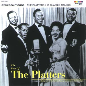 CD PLATTERS - THE BEST OF THE PLATTERS