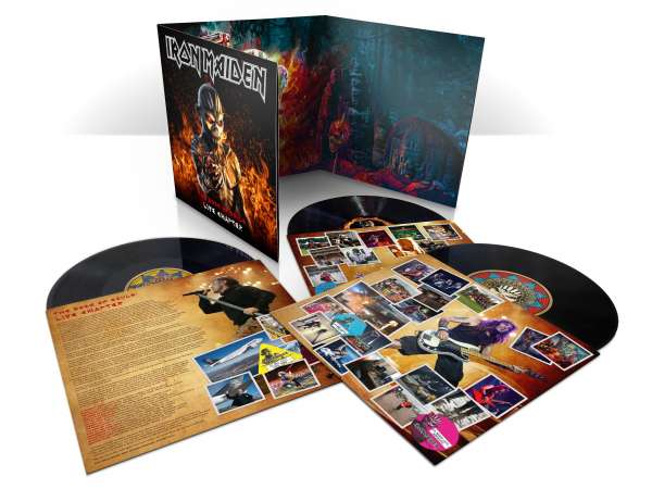 Iron Maiden - Vinyl THE BOOK OF SOULS: LIVE CHAPTER