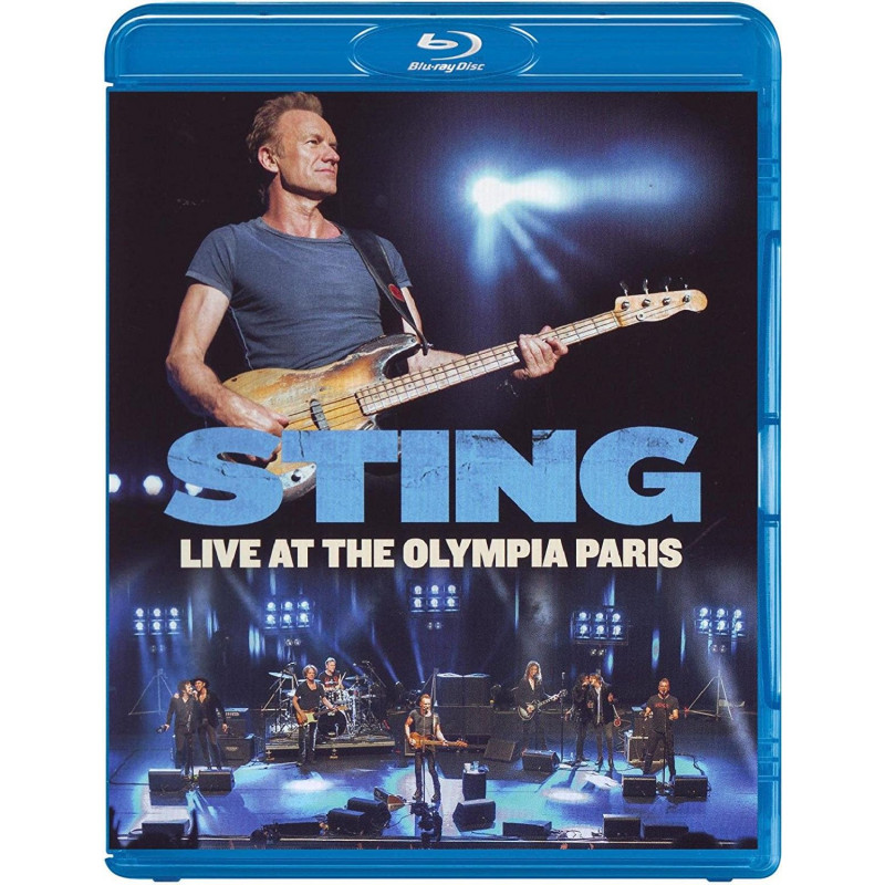 Sting - Blu-ray LIVE AT THE OLYMPIA PARIS