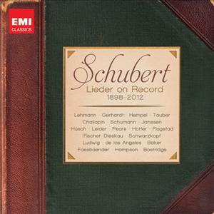 CD VARIOUS ARTISTS - LIEDER ON RECORD (1989-2012) - LIMITED