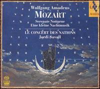 CD MOZART, W.A. - SERENATE/NOTTURNE/EINE KL