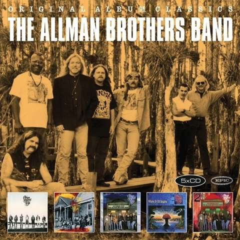 Allman Brothers Band - CD Original Album Classics 2