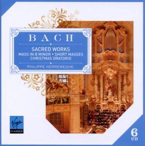 Johann Sebastian Bach - CD SACRED WORKS/HERREWEGHE