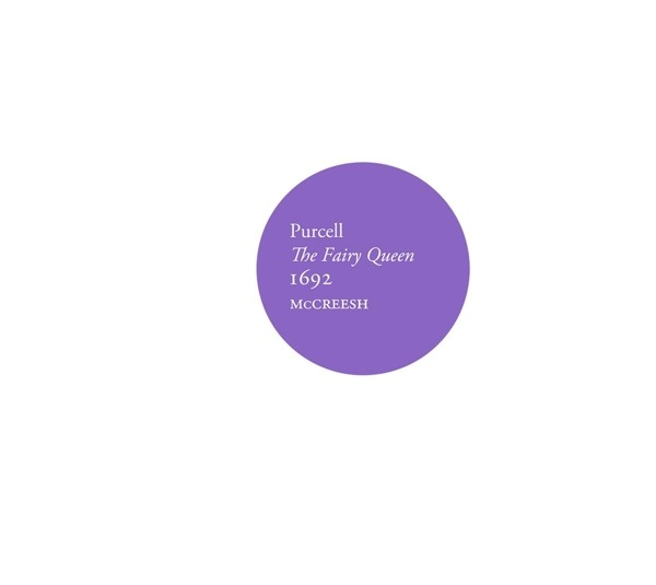 CD GABRIELI CONSORT - PURCELL - THE FAIRY QUEEN, 1692