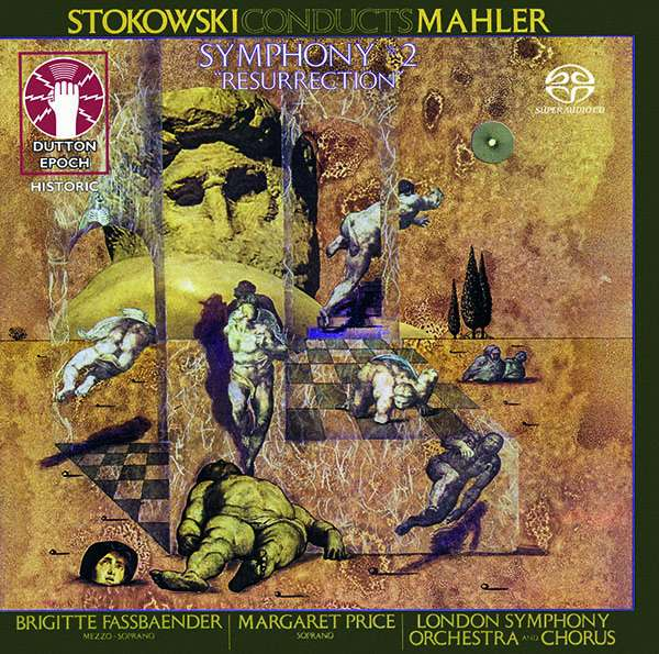 "CD STOKOWSKI, LEOPOLD - MAHLER: SYMPHONY NO. 2 ""RESURRECTION"""