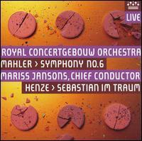 CD MAHLER/HENZE - SYMPHONY NO.6/SEBASTIAN IM TRAUM