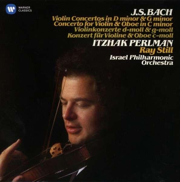 CD PERLMAN/ISRAEL PHILHARMONIC ORCHESTRA - BACH: VIOLIN CONCERTOS