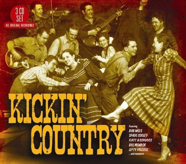 CD V/A - KICKIN' COUNTRY