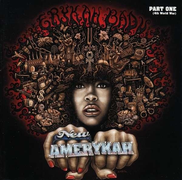Erykah Badu - CD New Amerykah Part One (4th World War)
