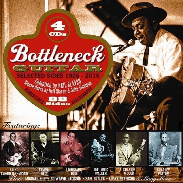 CD V/A - BOTTLENECK GUITAR 1926-2015
