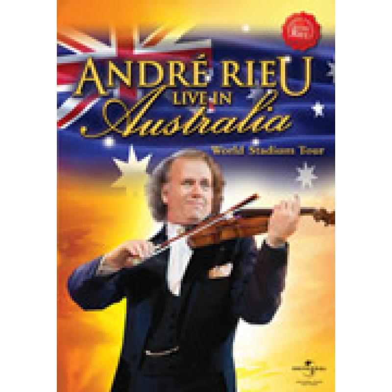 DVD RIEU ANDRE - LIVE IN AUSTRALIA